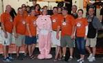 Volunteers at the Glen Ellyn Backyard BBQ Cook-Off