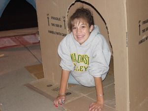 Sleep Out Saturday 2006 at Our Saviour's Lutheran Church