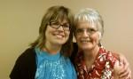 Patty Kelly and Mary Zienty 2012