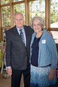 Bridge co-founder and keynote speaker Mark Milligan with his wife Carolyn