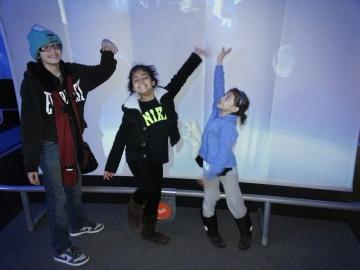 Noemi, Soleil & Amaya Rivera at Adler